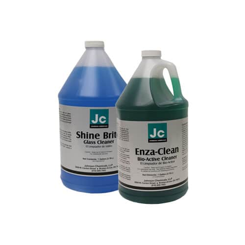 Glass and Floor Cleaning Products