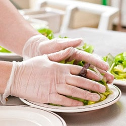 Commercial Kitchen Food Preperation Gloves