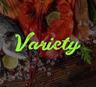 Seafoods Variety