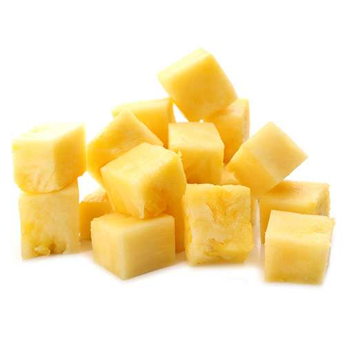 Fresh Cut Pineapple Cubes