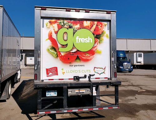 GoFresh Truck Back View