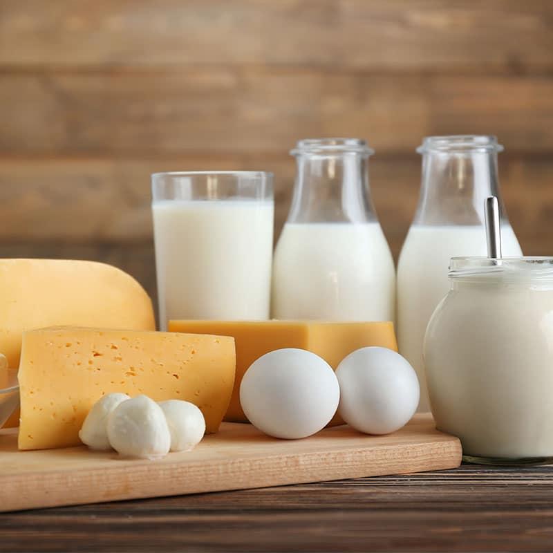 Fresh dairy and milk